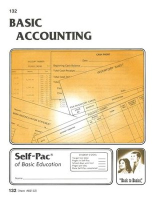 Accounting Self-Pac 132, Grades 9-12   -