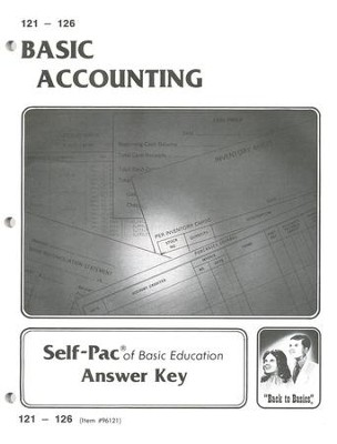 Accounting Key 121-126  -