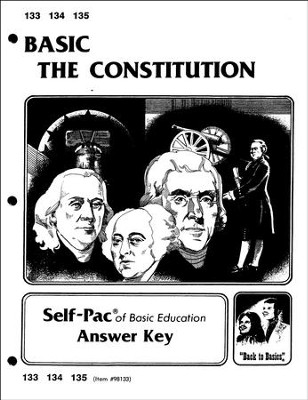 The Constitution Key 133-135  -
