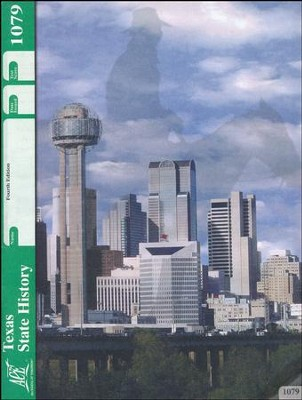 4th Edition Texas State History PACE 1079 Grade 7  -