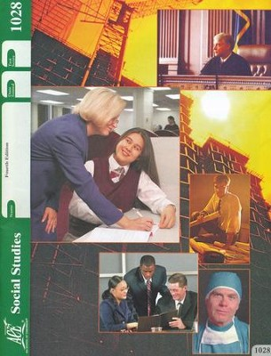 4th Edition Social Studies PACE 1028 Grade 3  -