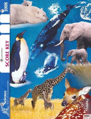 Science PACE SCORE Key 1008, Grade 1, 4th Edition   -