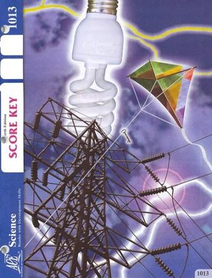 4th Edition Science PACE SCORE Key 1013, Grade 2   -
