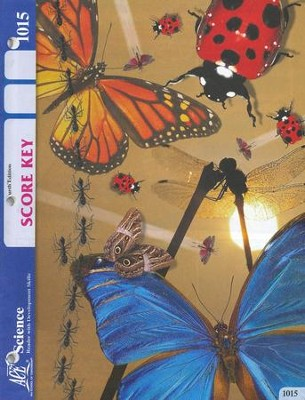 4th Edition Science PACE SCORE Key 1015, Grade 2   -