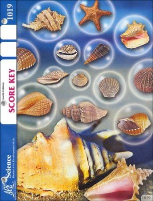 4th Edition Science PACE SCORE Key 1019, Grade 2   -