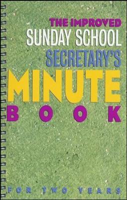 Improved Sunday School Secretary's Minute Book