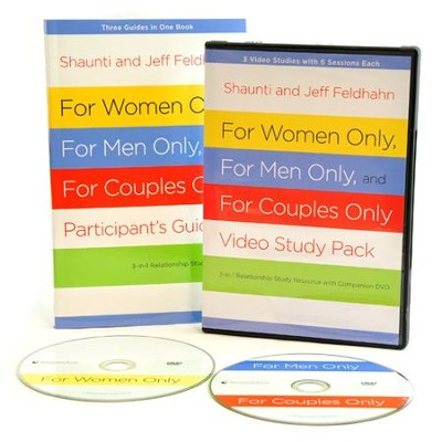 For Women Only, For Men Only, and For Couples Only Video Study Pack: 3 Video Studies with 6 Sessions Each  -     By: Shaunti Feldhahn, Jeff Feldhahn