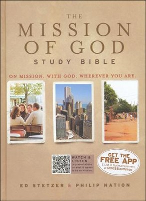 HCSB The Mission of God Study Bible, Hardcover  -     Edited By: Ed Stetzer, Philip Nation
