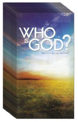 Who is God?  Pack of 25   -