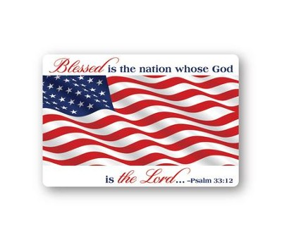 Blessed Is The Nation Magnet  -