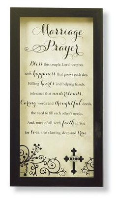 Marriage Prayer--Wall Plaque   -