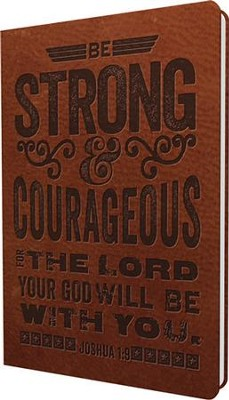 Strong & Courageous Journal  -
