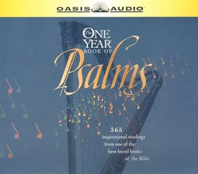 NLT One-Year Book of Psalms Audio Bible on CD  -
