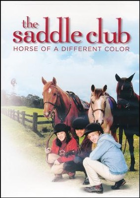 The Saddle Club: Horse of a Different Color, DVD   -