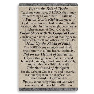 Armor of God Magnet  -