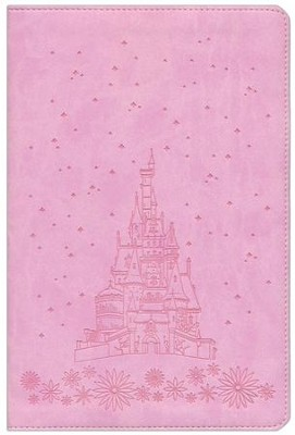 HCSB Illustrated Study Bible for Kids, Pink imitation leather  -