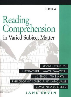 Reading Comprehension in Varied Subject Matter, Grade 6  -     By: Jane Ervin