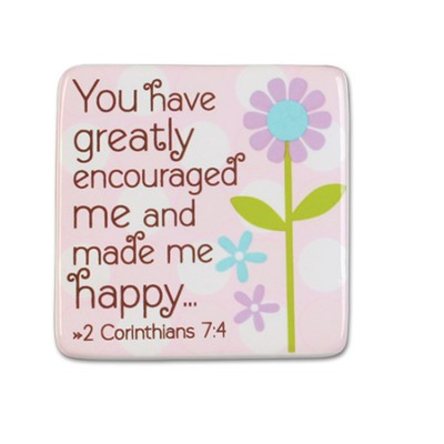 Grandma, You Have Greatly Encouraged Me Magnet  -