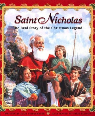 Saint Nicholas: The Real Story of the Christmas Legend, Hardcover   -     By: Julie Stiegemeyer