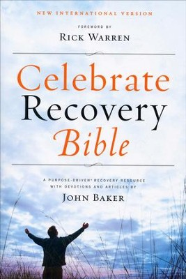 NIV Celebrate Recovery, CBD Exclusive Edition, Softcover   -