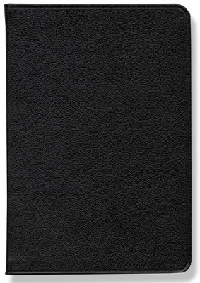 NASB Pitt Minion Reference Bible, Goatskin leather, black  -