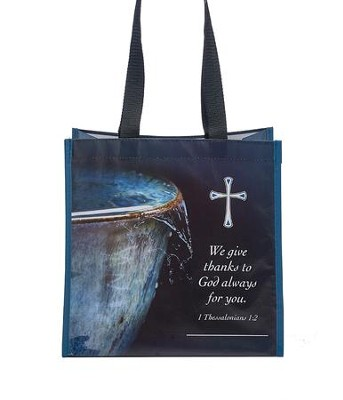 Overflowing with Thanks Tote Bag  -