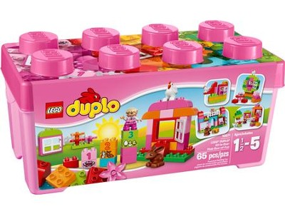 LEGO ® DUPLO ® All in One Pink Box of Fun   -