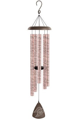 Angels' Arms, Rose Gold Sonnet Chime  -