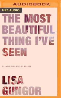 The Most Beautiful Thing I've Seen, Unabridged Audiobook on MP3-CD   -     By: Lisa Gungor
