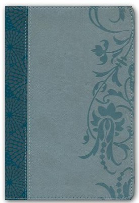 HCSB Study Bible for Women, Personal Size Edition Soft Leather-look, Teal/sage  -