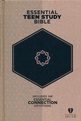 HCSB Essential Teen Study Bible, Hardcover  -