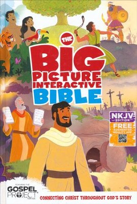 NKJV Big Picture Interactive Bible, Hardcover  -
