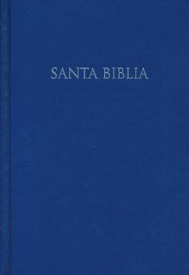 RVR 1960 Biblia para Regalos y Premios, azul tapa dura, RVR 1960 Gift and Award Bible, Blue Hardcover  -