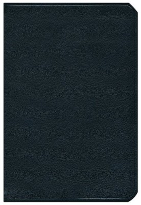 KJV Cameo Reference Bible with Apocrypha, Calfskin, black  -