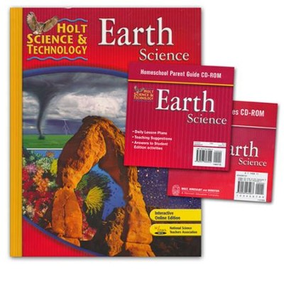 Holt Science & Technology: Earth Science Homeschool Package with Parent Guide CD-ROM  -