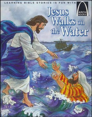 Jesus Walks on the Water    -     By: Nancy I. Sanders