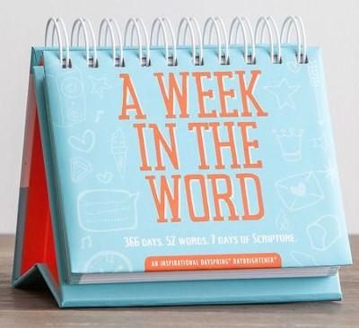 A Week In the Word Daybrightener Calendar  -