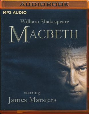Macbeth - unabridged audio book on MP3-CD  -     Narrated By: Josh Cooke     By: William Shakespeare