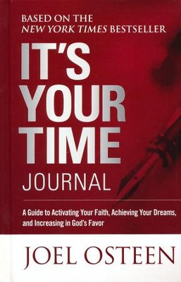 It's Your Time Journal   -     By: Joel Osteen