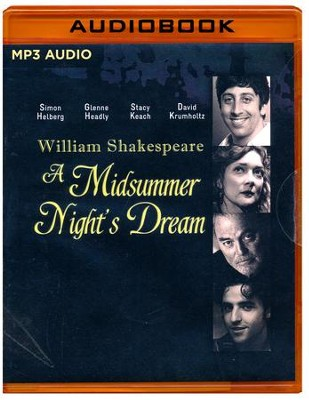 Midsummer Night's Dream- unabridged audio book on MP3-CD  -     Narrated By: Jamie Bamber     By: William Shakespeare