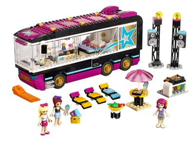 LEGO ® Friends Pop Star Tour Bus   -