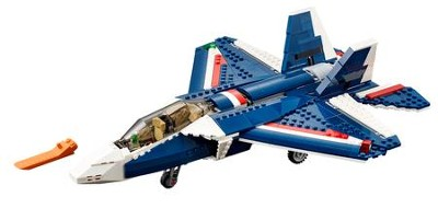 LEGO ® Creator Blue Power Jet   -