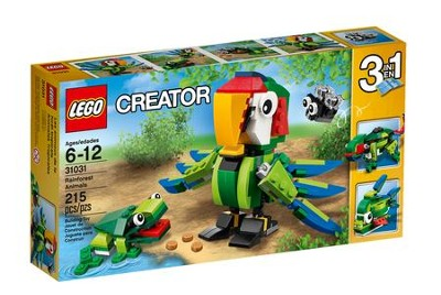 LEGO ® Creator Rainforest Animals   -