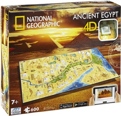 4D National Geographic, Ancient Egypt, Cityscape Puzzle  -