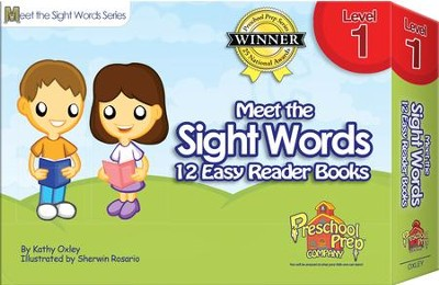 Meet the Sight Words Level 1: 12 Easy Reader Books   -