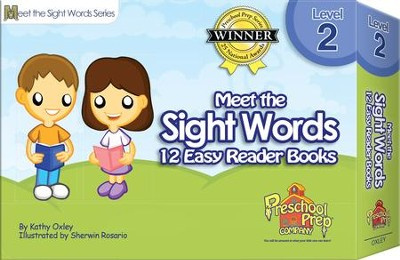 Meet the Sight Words Level 2: 12 Easy Reader Books   -