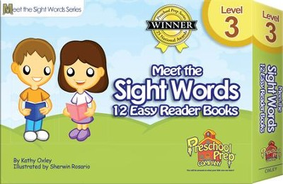 Meet the Sight Words Level 3: 12 Easy Reader Books   -