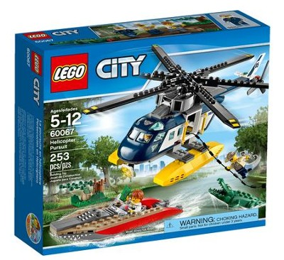 LEGO ® City Helicopter Pursuit   -