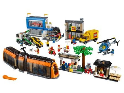 LEGO ® City Town City Square   -