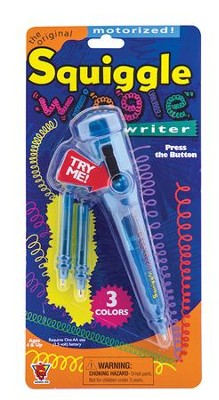 Squiggle Wiggle Vibrating Pen  -